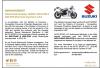 Suzuki newspaper ad