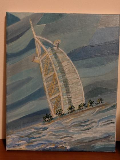 Artwork - Burj Al Arab