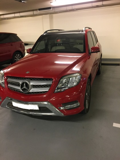 Mercedes GLK 350  model 2015 only 44000km