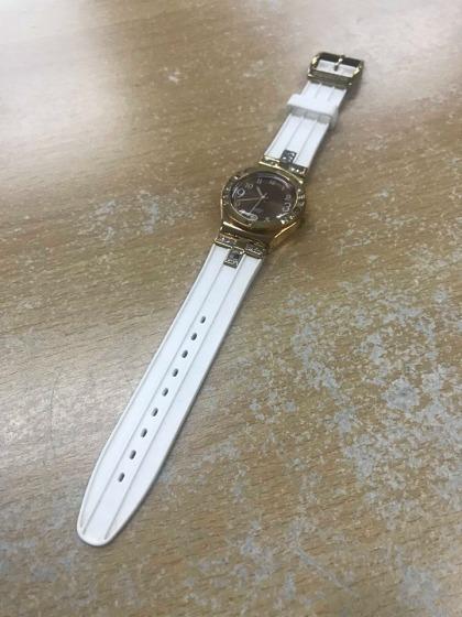 Swatch watch (White & Gold)