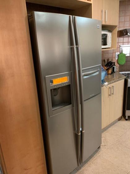 LG double door fridge and freezer with ice machine