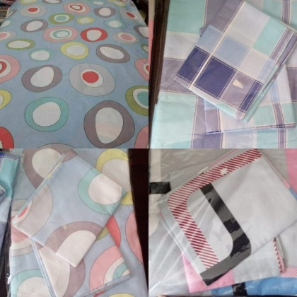 Bed sheets with pillow cases