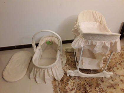 Baby bassinet other baby items