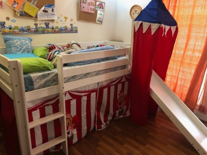 Bunk bed with storage, Homesrus set