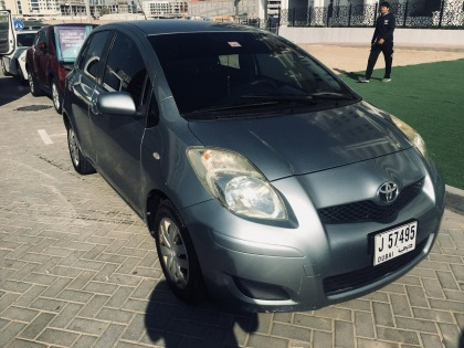 Toyota yaris 2011 for sell GCC