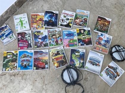 Wii games various (original Wii)