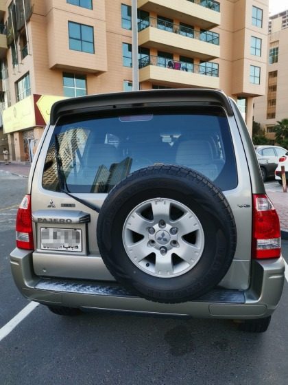 Two Door Mitsubishi Pajero 2006 with very low mileage
