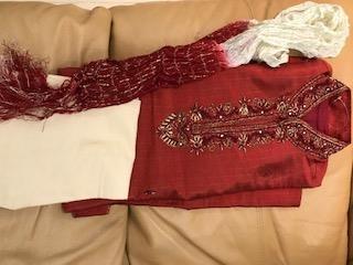 Children's fancy dress,  men's raw silk Sherwani outfits
