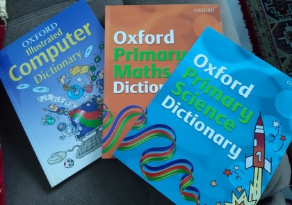 Oxford Primary School Maths, Science and Computer Dictionaries