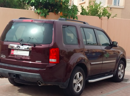 Honda Pilot 2011- Expat Lady driven