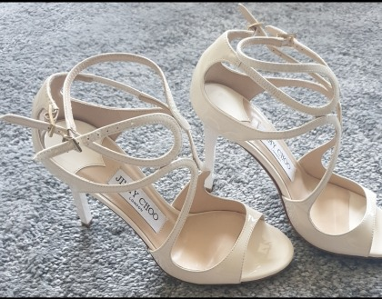 Jimmy Choo Lang Sandals  Brand New