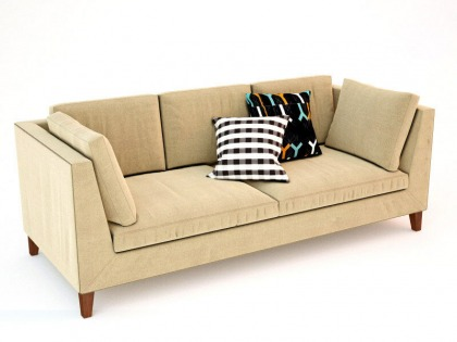 Ikea Stockholm Sofa and other Ikea furniture/lamps