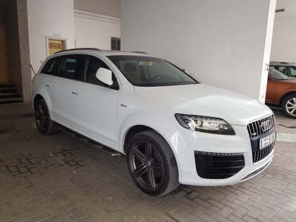 Mind Condition Audi Q7 (2015) for sale Al Qasimiyah