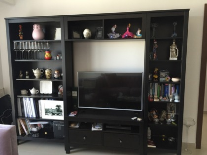 TV & Books Cabinet