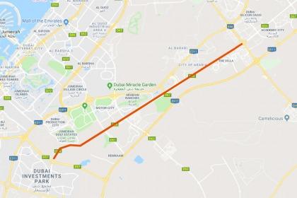 Speed Limit On Sheikh Zayed Bin Hamdan Al Nahyan Street Increased Expatwoman Com