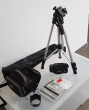 Canon Camcorder with Carry Case & Tripod