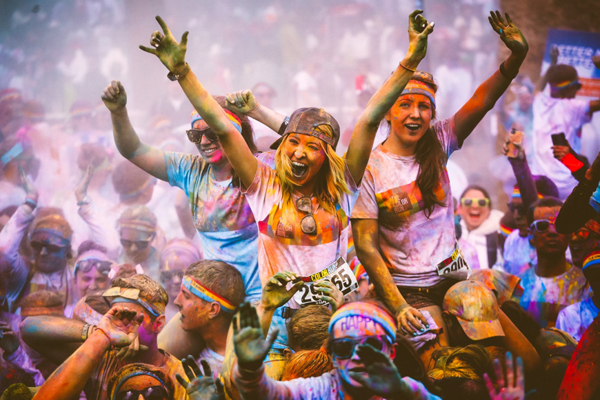 Exclusive ExpatWoman discount for the 2018 The Color Run