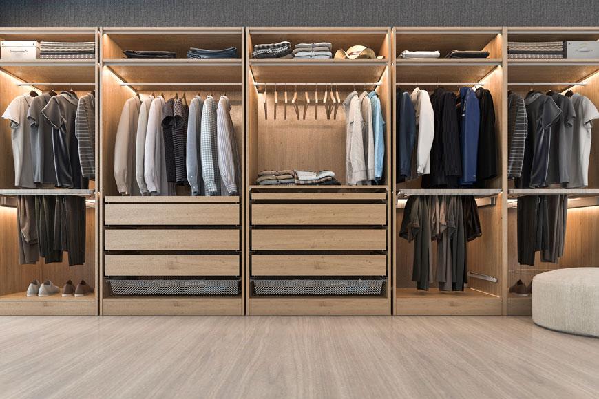 Dream of Owning A Walk-In Wardrobe?