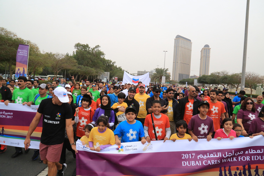 Dubai Cares Walk for Education 2018